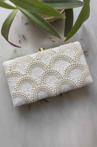 Bead Box Clutch with Sling