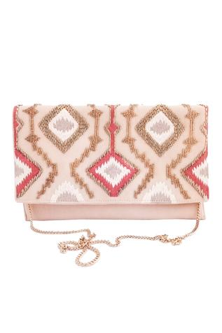 Envelope Flap Clutch with sling