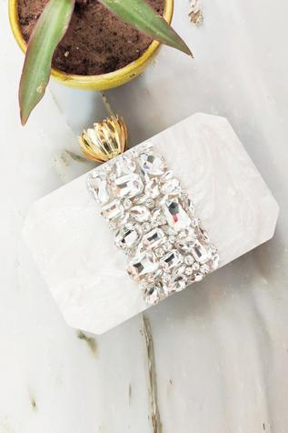 Resin Box Clutch with Sling