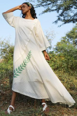 Handwoven Cotton Jamdani Tunic