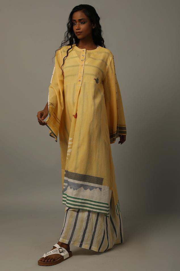 Handwoven Cotton Jamdani Tunic