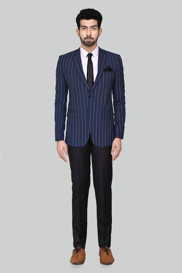 Striped Blazer & Pant Set
