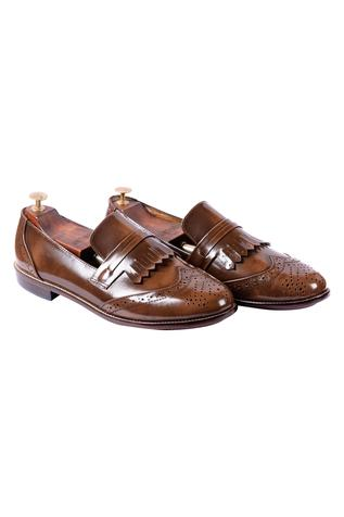 Brogue Kiltie Loafers