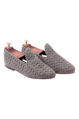 Handcrafted Textured Loafers