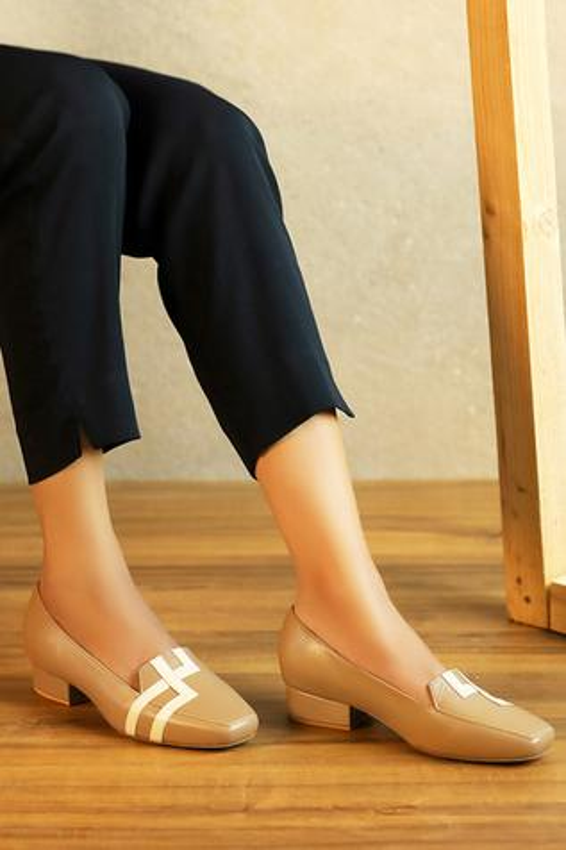 Anni Block Heel Loafers