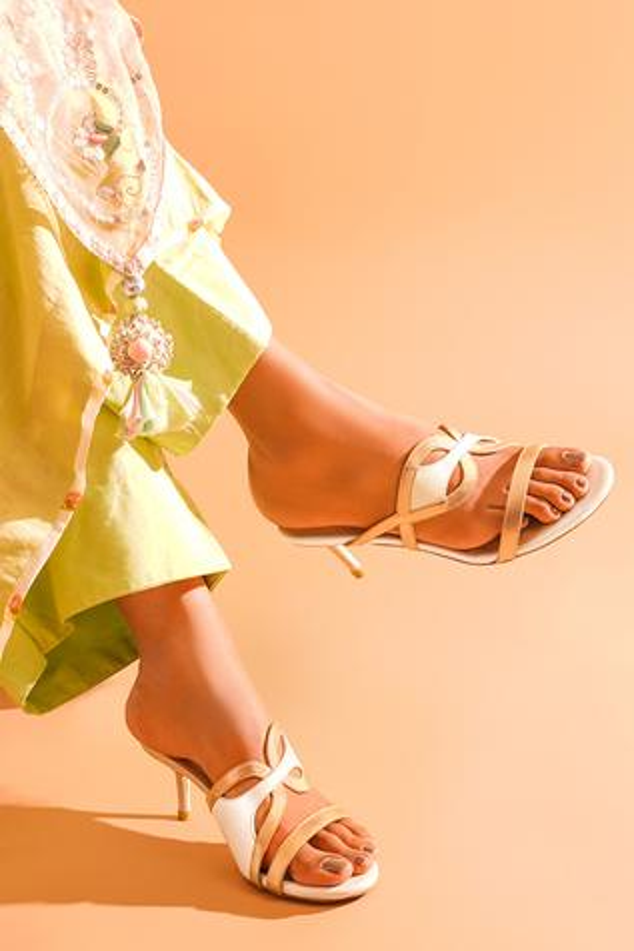 Anya Open Toe Stilettos