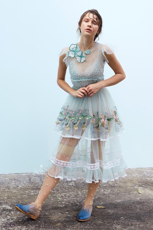 Layered Midi Dress