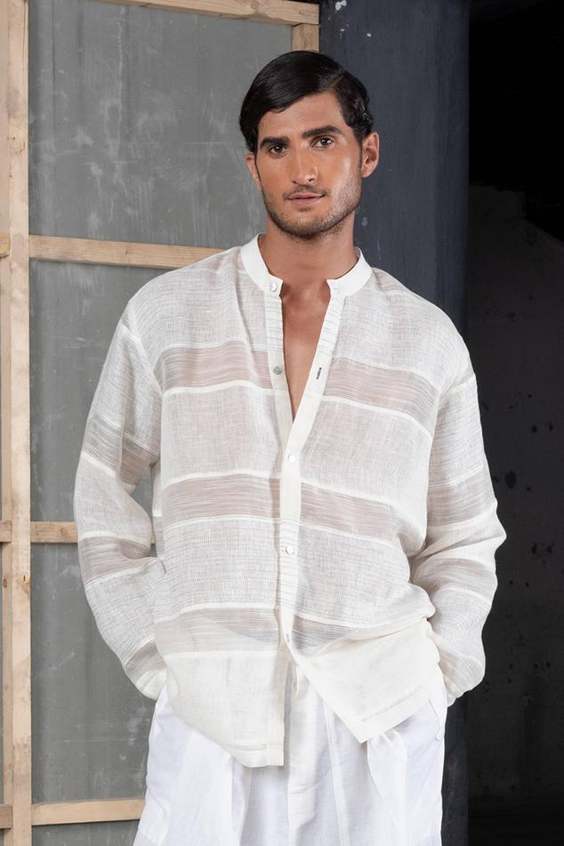 Linen Silk Shirt