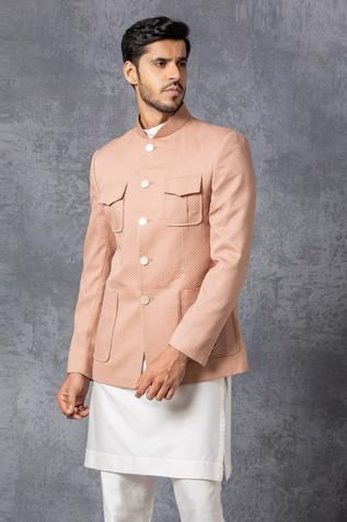 Button Down Bandhgala