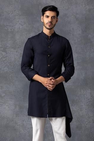 Asymmetric Kurta & Pant Set