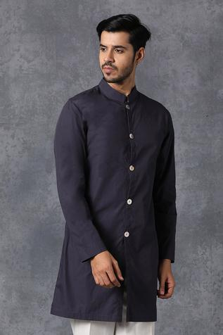 Button Down Kurta & Pant Set