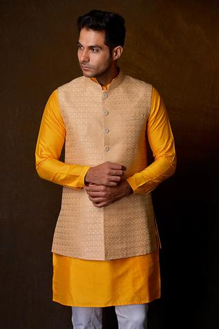 Brocade Nehru Jacket