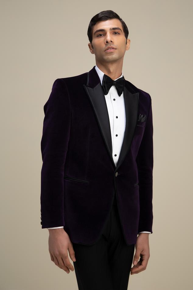 Cotton Velvet Tuxedo