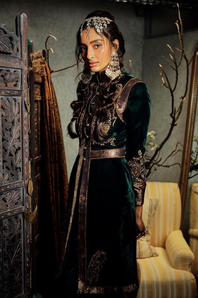 Mumtaz Silk Velvet Jacket