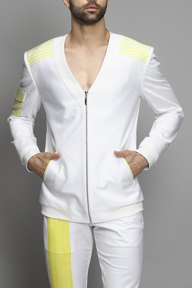Cotton Jacket & Pant Set