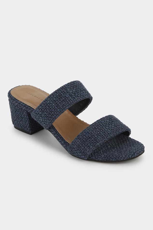 Textured Block Heels