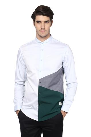 Colorblock Shirt