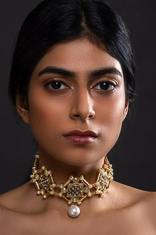 Kundan Choker Necklace