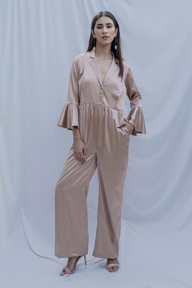 Merlyn Satin Silk Jumpsuit