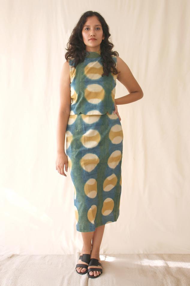 Printed Organic Cotton Skirt Set
