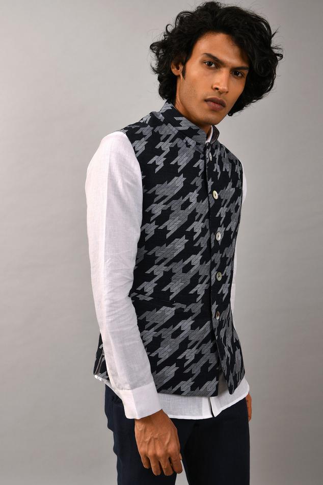 Handloom Cotton Silk Bundi