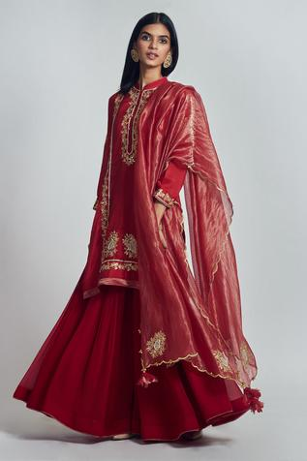 Nasira Kurta Gharara Set