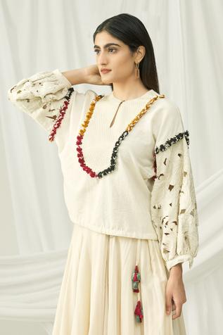 Kala Cotton Blouse