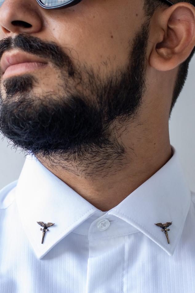 Roman Sword Collar Tips