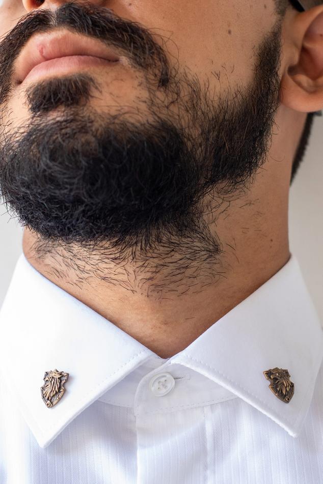 Eagle Shield Collar Tips