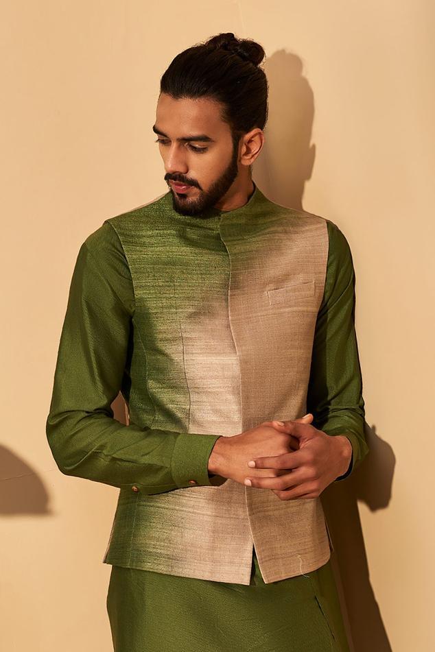 Handloom Silk Bundi