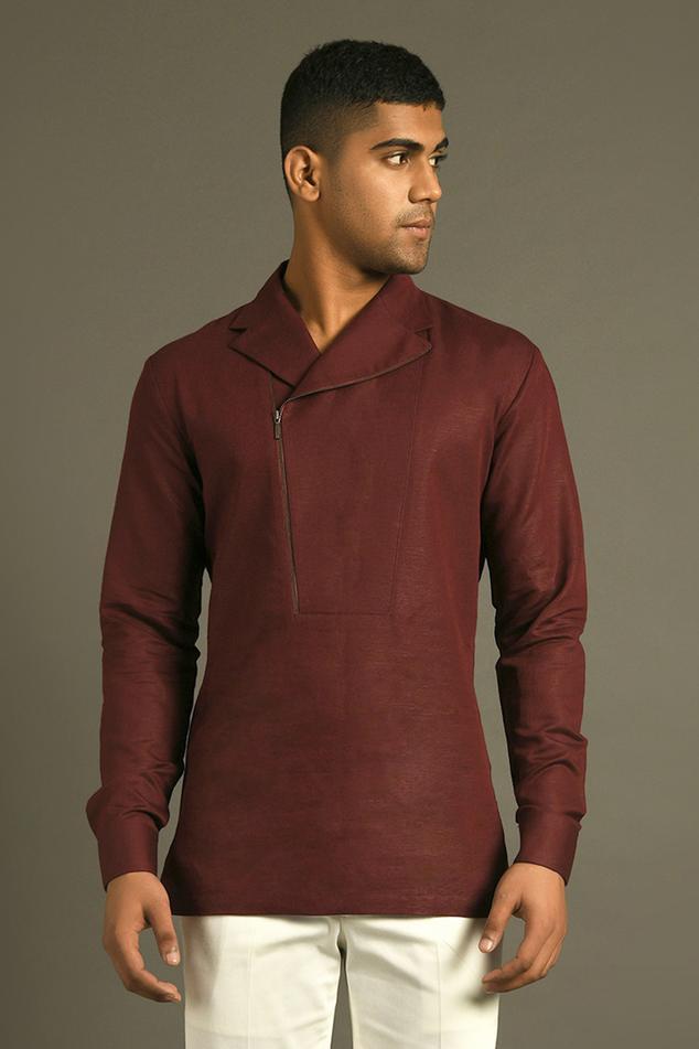 Handloom Cotton Linen Shirt