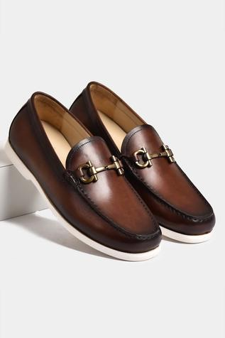 Hand Painted Horsebit Loafers
