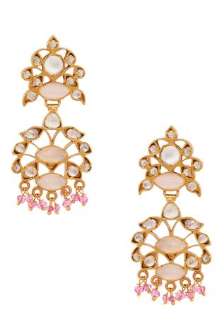 Ethnic Quartz Earrings