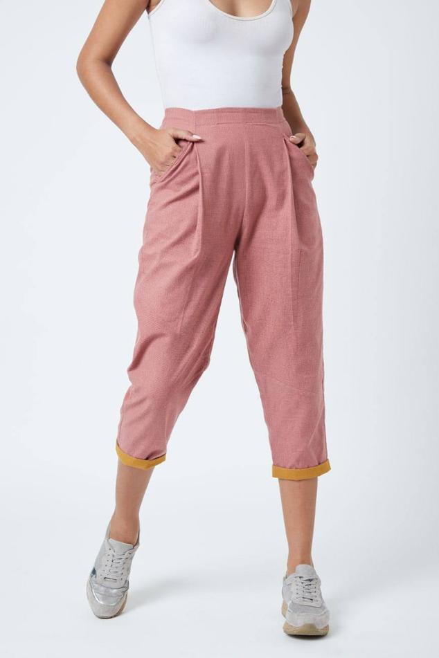 Zain Red Pants