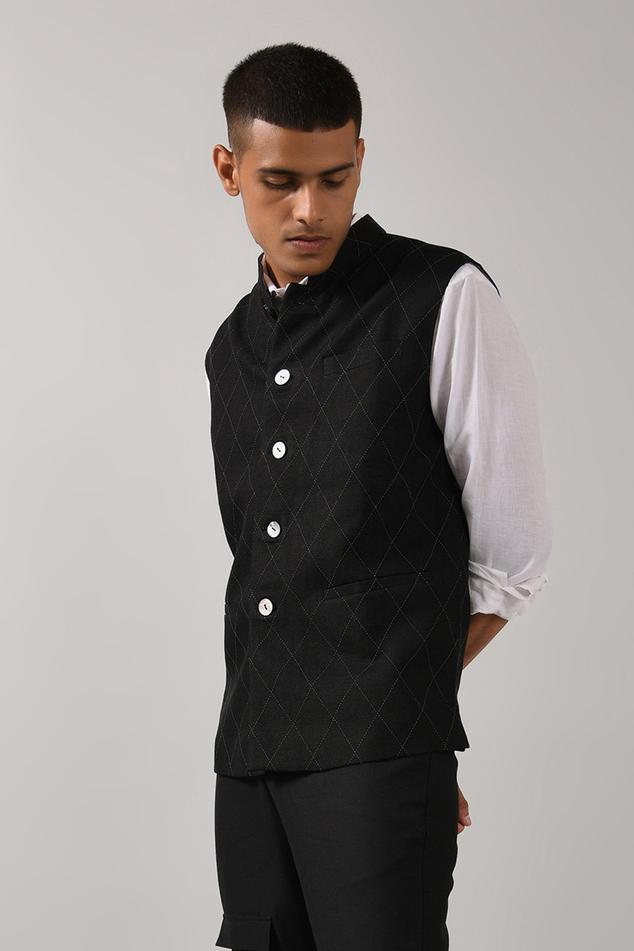 Linen Nehru Jacket