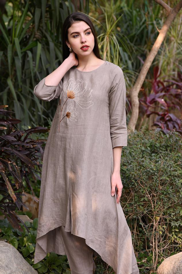 Linen Asymmetric Tunic