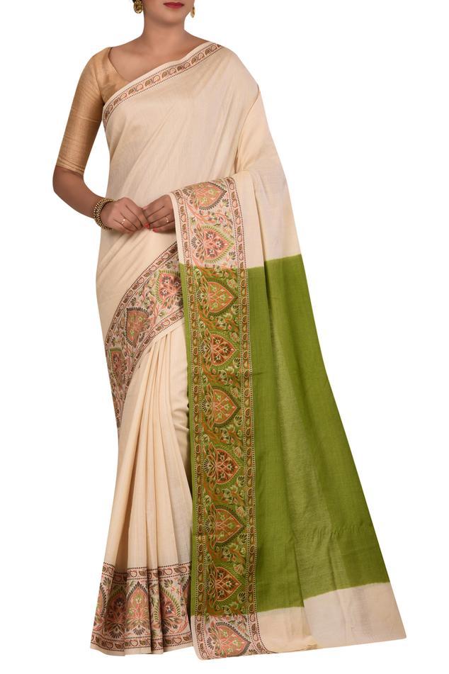 Pure Banarasi silk saree with running blouse