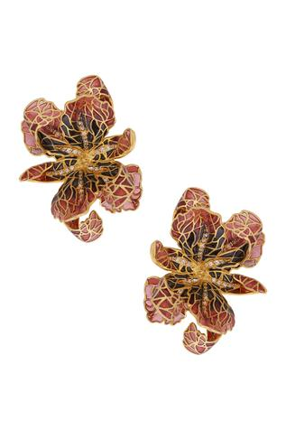 Handcrafted Floral Studs