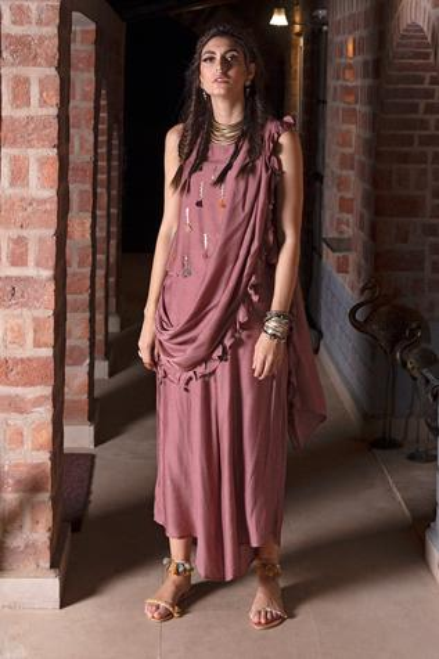 Embellished Pant Saree