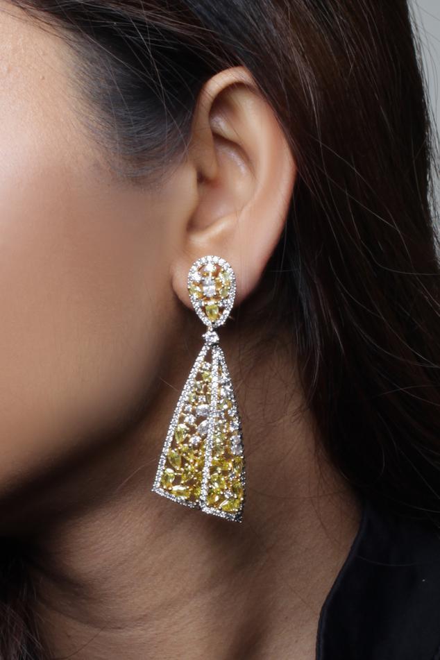 Stone Dangler Earrings