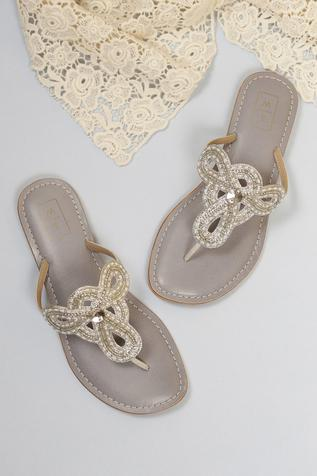 Farah Embroidered Sandals