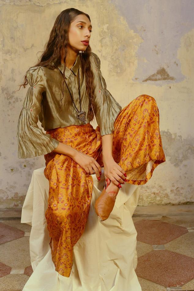 Handwoven Silk Shirt