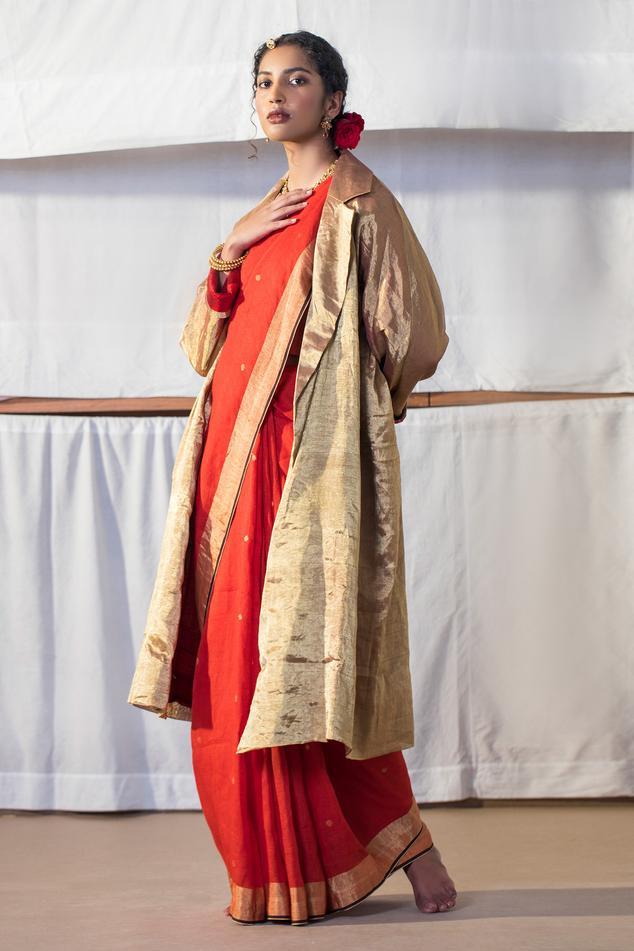 Textured Zari Jacket
