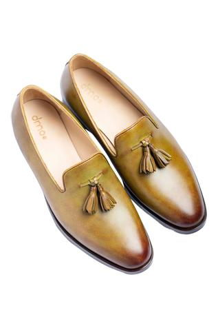 Hand Painted Tassel Loafer