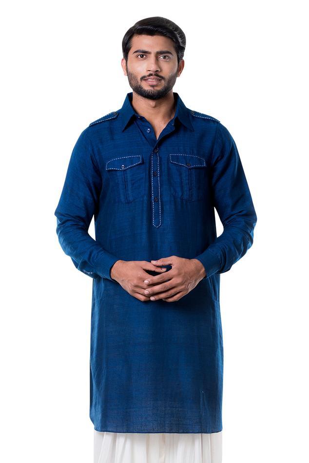 Linen Pathani Set