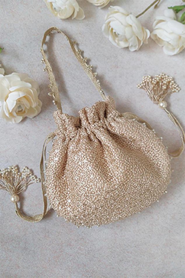 Sequin Embroidered Potli Bag