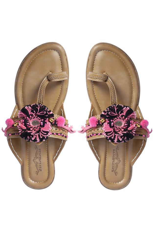 Embellished Kolhapuri Sandals