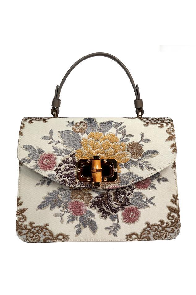 Floral Flap Handbag