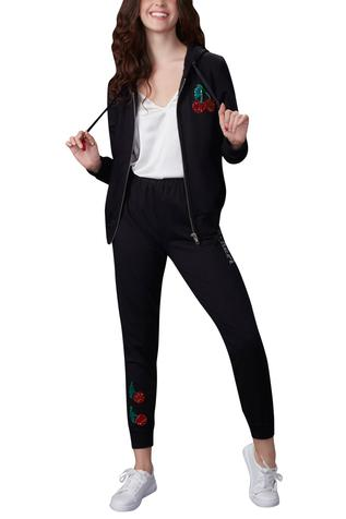 Embroidered Track Suit Set