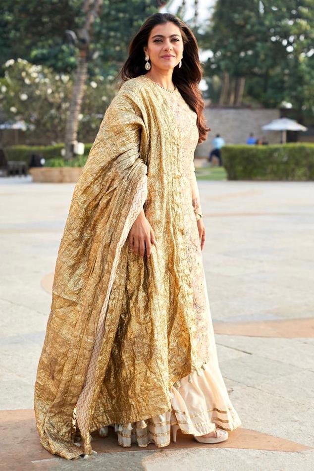 Chanderi Kurta Sharara Set